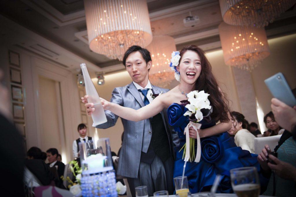 映画『パラダイスキス』~ゲストの心に残る青いドレス~