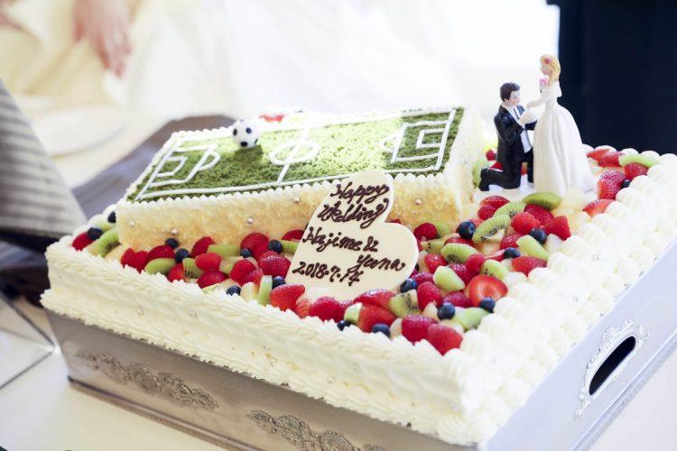 オリジナルウェディングケーキ♡